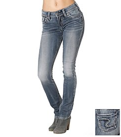 Silver Jeans Co. Suki Mid Straight Jean