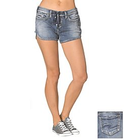 Silver Jeans Co. Aiko Mid Joga Jean Short