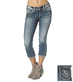 Silver Jeans Co. Suki Mid Cuff Jean Capri
