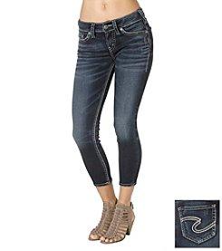 Silver Jeans Co. Suki Mid Joga Jean Capri