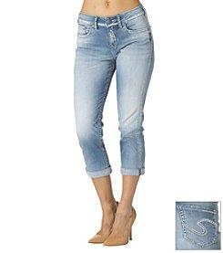 Silver Jeans Co. Suki High Cuff Jean Capri