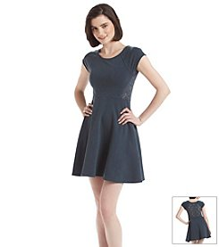 Kensie® Performance Lace Skater Dress