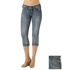 Silver Jeans Co. Suki Stretch Cuff Capri