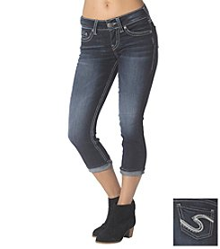 Silver Jeans Co. Tuesday Super Stretch Cuff Capri