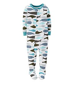 Carter's® Baby Boys 1-Piece Snug Fit Cotton Pjs