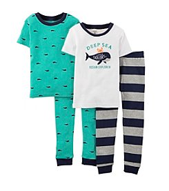 Carter's® Boys' 2T-4T 4-Piece Deep Sea Set