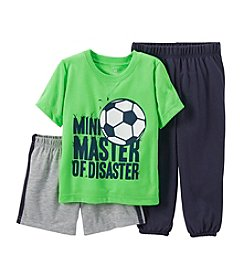 Carter's® Baby Boys 3-Piece Jersey & French Terry Pjs