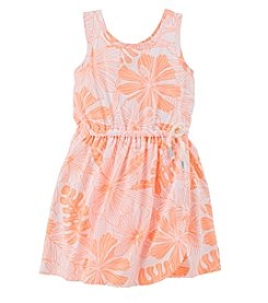 Carter's® Girls' 2T-6X Floral Dress
