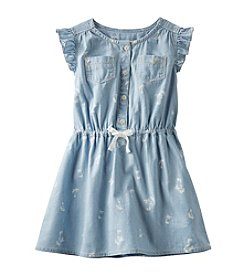 OshKosh B'Gosh® Girls' 2T-6X Printed Chambray Shirt Dress