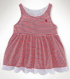Ralph Lauren Childrenswear Girls' 2T-6X Striped Tank
