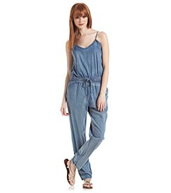 Romeo & Juliet Couture® Woven Denim Jumpsuit