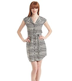 Jack Modern Diamonds Shirt Dress