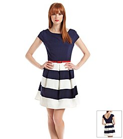Bee Darlin' Stripe Belted Dress