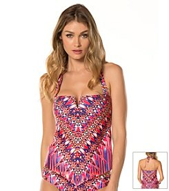 Becca® Cathedral Tankini Swim Top