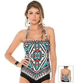 Becca® Southwest Print Tankini Top