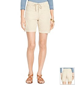 Lauren Jeans Co.® Drawcord Chino Short