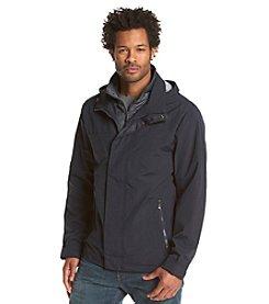 Weatherproof Men's Rain Jacket With Bib
