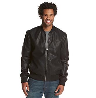 UPC 694414446938 - Levi's® Men's Faux Leather Varsity Rib