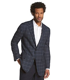 Geoffrey Beene® Men's Big & Tall Windowpane Sport Coat