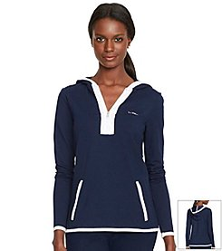 Lauren Active® Color-Blocked Half-Zip Hoodie