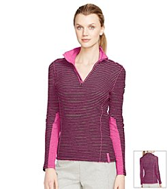 Lauren Active® Mockneck Cotton Pullover