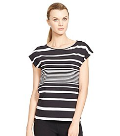 Lauren Active® Multi-Striped Bateau-Neck Shirt