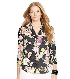 Lauren Ralph Lauren® Floral Cotton Shirt