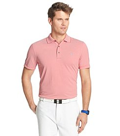 Izod® Men's Short Sleeve Greenie Feeder Stripe Polo