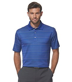 PGA TOUR® Men's Birdseye Jacquard Striped Polo