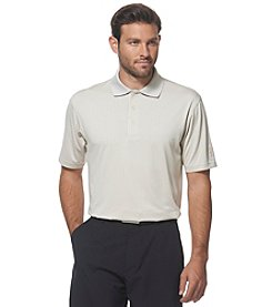 PGA TOUR® Men's Short Sleeve Argyle Jacquard Polo