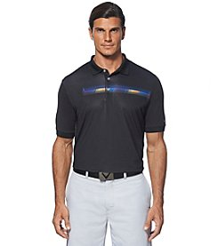 Callaway® Men's Short Sleeve Yoke Print Polo