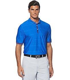 Callaway® Men's Short Sleeve Ottoman Polo