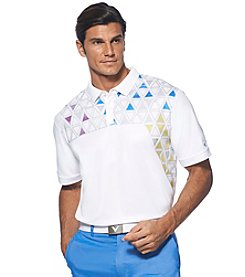 Callaway® Men's Short Sleeve Triangle Polo