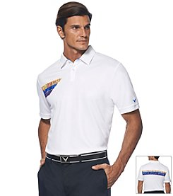 Callaway® Men's Short Sleeve Stripe Polo
