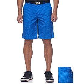 Callaway® Men's Plaid Tech Short