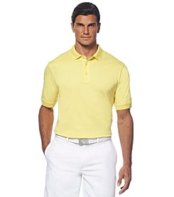 Callaway® Men's Short Sleeve Solid Cotton Polo