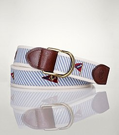 Polo Ralph Lauren® Men's Seersucker With Flag Belt