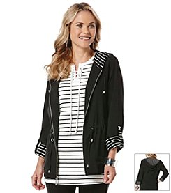 Rafaella® Stretch Anorak Jacket