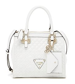 GUESS Sunset Quilted Status Satchel