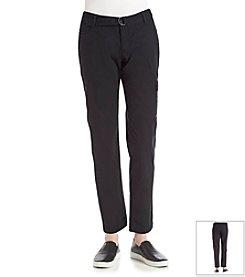 DKNY JEANS Belted Poplin Cargo Pants