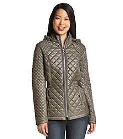 Esprit Hooded Quilt Coat