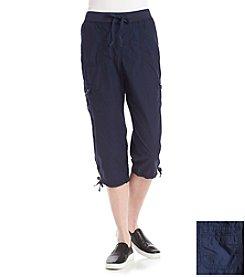Gloria Vanderbilt® Sport Woven Capri Pants