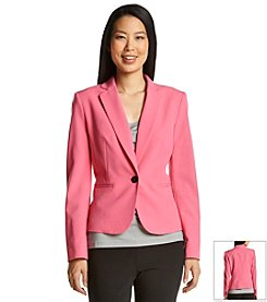 Nine West® Notch Lapel Jacket