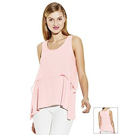 Vince Camuto® Sleeveless Tiered Top