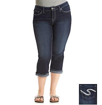 Jean Capris Plus Size