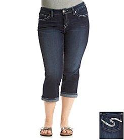 Silver Jeans Co. Plus Size Suki Mid Capri
