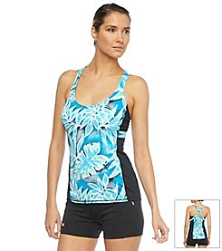Beach House® Comfort Strap X-Back Tankini