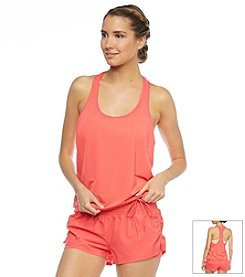 Beach House® 2-In-1 Layering Tank Sport Bra Swim Top