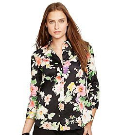 Lauren Ralph Lauren® Floral Cotton Shirt