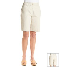 Studio Works® Twill No-Gap Short